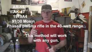 AR15, AK47 Broken shell removal.  How to remove the case.