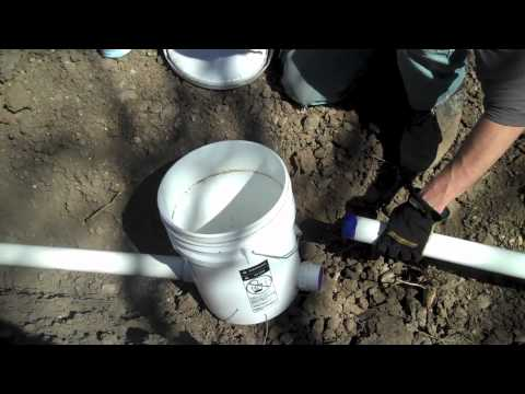 Building A Grey Water Wetland Oasis Youtube