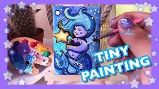 Tiny Mermaid Painting