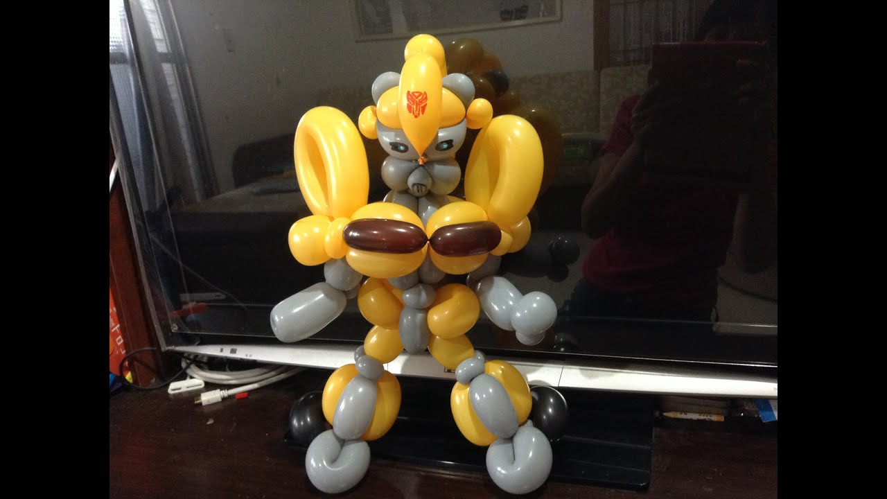 Как сделать трансформера из шаров