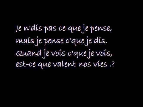 Stromae - AVF  feat Orelsan et Maître Gims (PAROLE