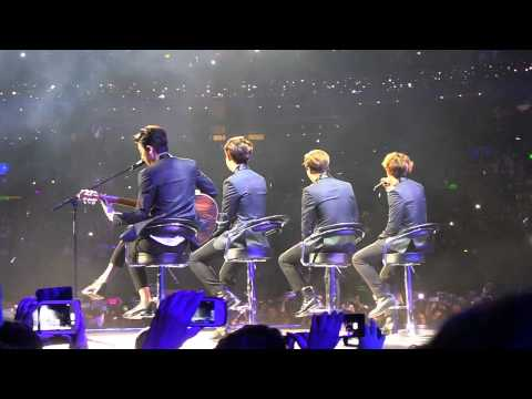 EXO-K Sabor a mí [Rear view] Music Bank Mexico