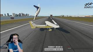 FSCloud Group Flight Testing - X-Plane and P3D living together
