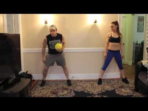 FRUGAL WORKOUT: Partner Medicine Ball Training w/ Leah Hilton Image 1