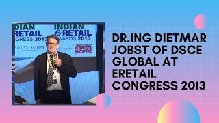 Dr Ing Dietmar Jobst of DSCE Global at
