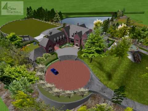Landscape plans 3d home and landscape design software reviews for Architect 3d home landscape design