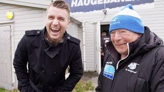 Møter Haugesund-legende: - Han er så forbanna lat!