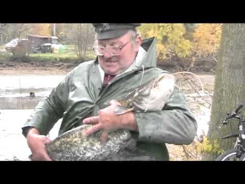 Výlov rybníku v Loučkách u Podlíšťan  28.10.2010