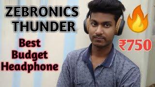 Zebronics - Thunder Full Review Best Budget Headphone Under ₹1000 | Aditya Kumar Alok