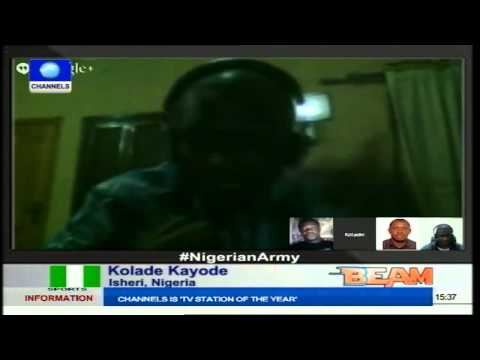 Channels Beam: Nigerians Assess Performance Of Nigerian Army In Fight Against Terror Part1