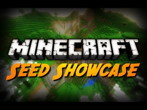 Minecraft Seeds - Exposed Stronghold in a Ravine! (1.2.5 Seed Showcase)