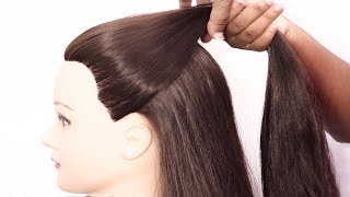 Very easy Hairstyles For Short hair | Best Hairstyles for Girls | 2019 Hairstyles | hair style girl