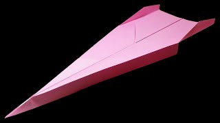Paper Planes that FLY FAR - How to make a GOOD Paper Airplane 🔻 Dart