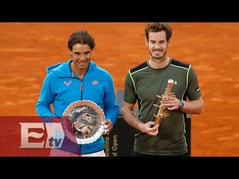 Andy Murray vence a Rafael Nadal y se corona en el Masters de Madrid/ Rigoberto Plascencia