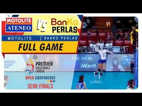 PVL OC 2018: Ateneo-Motolite vs BanKo-Perlas   Game  1st Set  December 1 2018