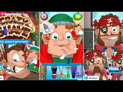 Crazy Shave Unlock All + No ADS Android İos  Free Game GAMEPLAY VİDEO