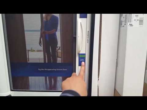 Costco! Genis Retractable Screen door $99!