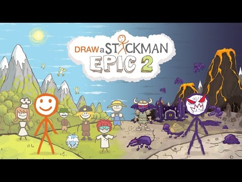 Draw a Stickman: EPIC 2 Free APK Cover