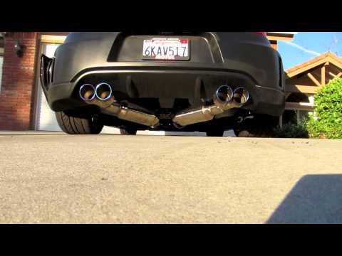 Quad Exhaust 370z Injen 370z Exhaust