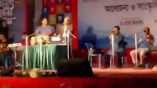 Chumi Choleche Aka Pothe  legendary Bengali song by Khurshid Alam