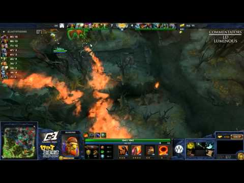 Na`Vi vs Alliance (NTH) - Game 3 (G-1 League - NA/EU Qualifier)