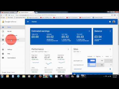 How to Check Your Earnings in Google Adsense Account   2017