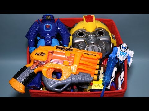 Toy Box: Action Figures, Cars, Max Steel, Transformers, Robots and More