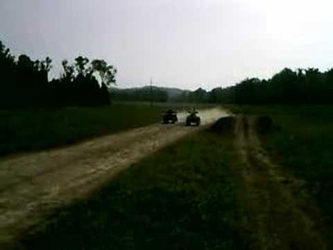 700 grizzly vs 800 Can-am outlander