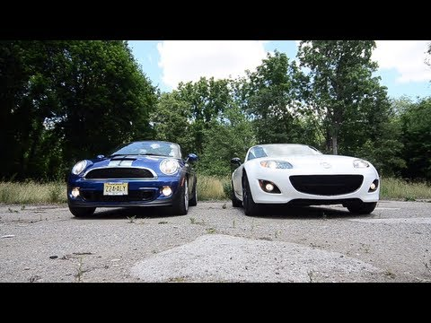 2012 Mazda MX-5 Miata Special Edition & 2012 Mini Cooper S Roadster -