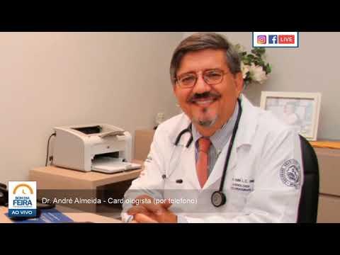 Entrevista com o Dr. André Almeida, cardiologista (por telefone)