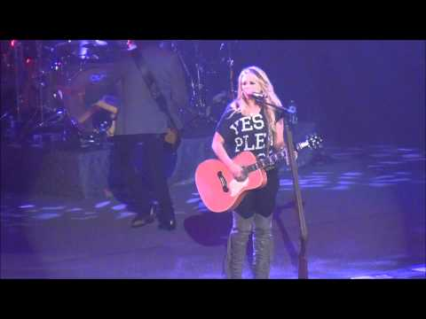 Miranda Lambert, Only Prettier, Youngstown Ohio 2 18 2012 video