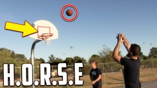 Crazy Game Of H.O.R.S.E! IRL Basketball Challenge