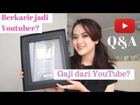 Q&A Youtube - Karir Youtuber? Gaji dari Youtube bisa hidup? (pengalaman pribadi)