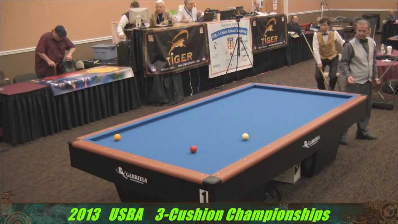 Usba 3 cushion championships 2013 super billiards expo for Pool expo show