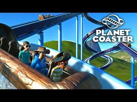 Planet Coaster - Безумные водные горки! #6