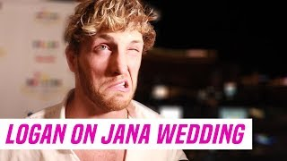 "Logan Paul at Jake Paul and Tana Mongeau's Wedding: ""They Won't Last"""