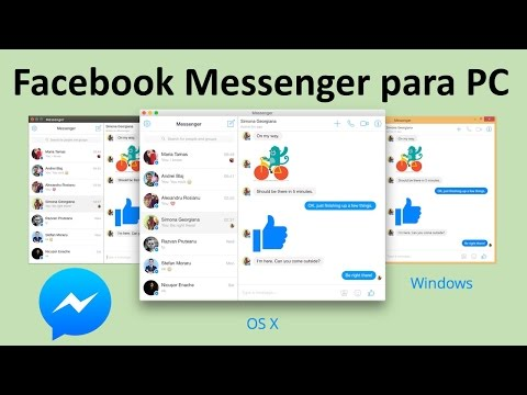 Facebook Messenger Oficial para PC | 2015
