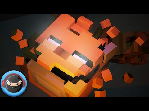 """FNAF SONG """"The Puppet Song"""" (Animated Minecraft Music Video)"""