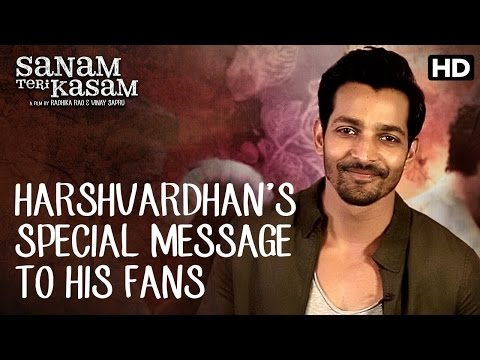 Fans Of South Indian Cinema! Harshvardhan Has A Special Message For You! | Sanam Teri Kasam