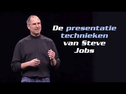 Presentatietechnieken van Steve Jobs