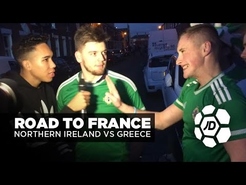 Subscribe to JD Football - http://bit.ly/1STb6EQ We were in Belfast last month for Northern Ireland's crucial 1-1 draw with Group F rivals Hungary, and with Michael O'Neill's team standing...