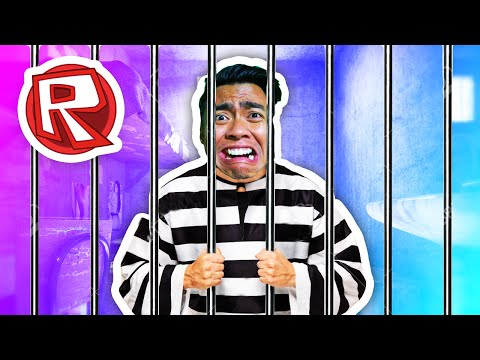 ESCAPING REDWOOD PRISON!   Roblox