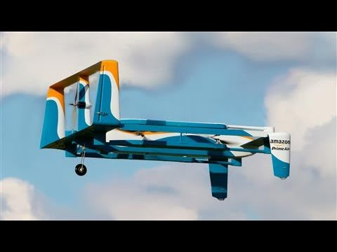 Amazon Reveals New Delivery Drone Look