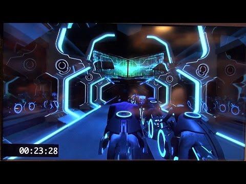 Shanghai Disneyland Tomorrowland 60 Years of Inspirations, Including Tron Coaster Ride Animatic