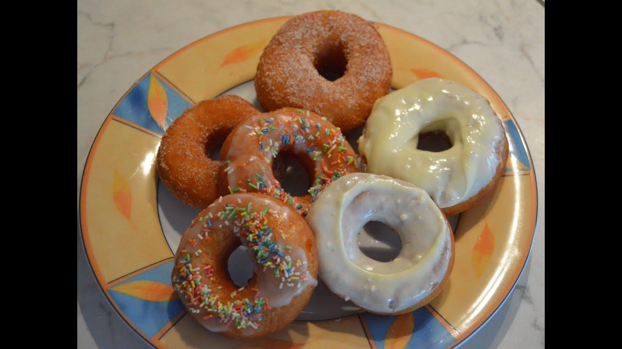 donut doughnut selber machen how to make a donut youtube. Black Bedroom Furniture Sets. Home Design Ideas