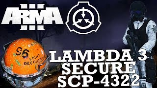 Lambda 3 Secure SCP-4322 | ArmA 3 - A Fustercluck in SCP