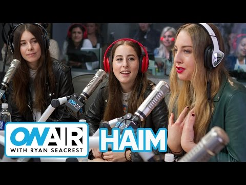 HAIM Talks Friendship With Taylor Swift | On Air with Ryan Seacrest