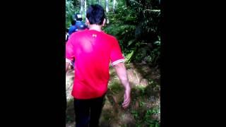 Jalan Menuju Baduy Dalam Cibeo