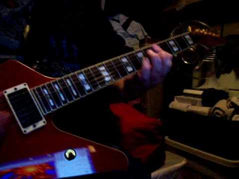 SAVATAGE - Power of the night - Guitar - Drop D + half step low tuning