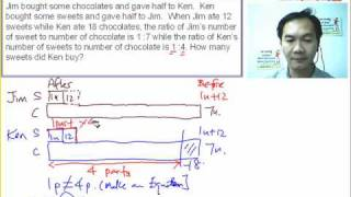 PSLE Math Question 18 Solution by Model Approach